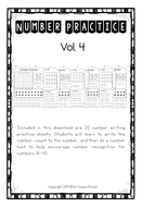 Number Bundle Practice 31-40