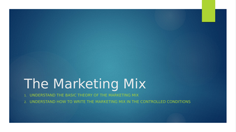 5-The-Marketing-Mix.pptx