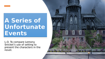 A Series of Unfortunate Events: Making Comparisons