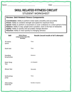 Skill-Related-Fitness-Components-Student-Worksheets-in-PPT-for-Editing.pptx