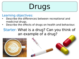 KS3 ~ Year 8 ~ Drugs