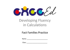 Fact Families: Addition - Decimal + Whole (upto 20)