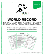 TRACK AND FIELD WORLD RECORD CHALLENGES
