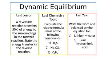 C8.7 Dynamic Equilibrium