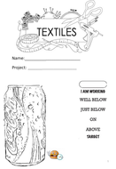 Supermarket Stitch Textiles Unit of work - limited materials needed