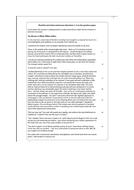 June 2017 Edexcel English Language Full Paper / Lesson Plan
