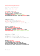 A-level poetry essay and revision | Daljit Nagra  and Tishani Doshi