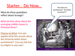 Ignorance and Want in A Christmas Carol   Teaching Resources