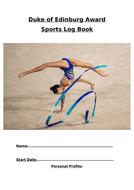 DofE Sports Log Books