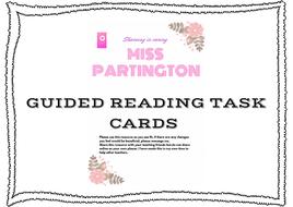 Guided reading ks2  task pack