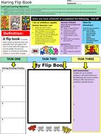 Worksheet-Haring-flip-book-New-curriculum.pptx