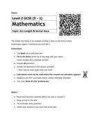 GCSE Mathematics revision booklets