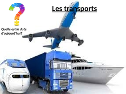 Transports, French Year 8