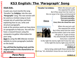KS3-English-Paragraph-Song.pptx