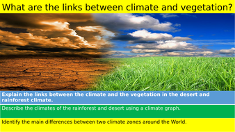 Climates - Desert and Rainforests