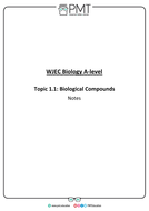 WJEC Wales Biology A-level Notes