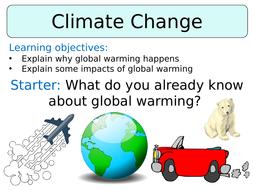 KS3 ~ Year 8 ~ Climate Change