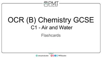 OCR (B) GCSE Chemistry Flashcards