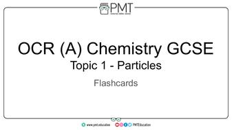 OCR (A) GCSE Chemistry Flashcards