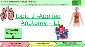 GCSE PE 9-1 Extended Answer Lessons