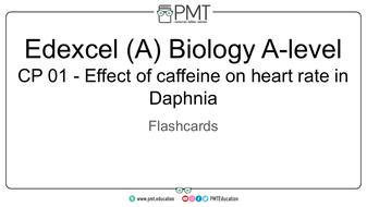 Edexcel (A) A-level Biology Practical Flashcards