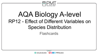 Flashcards---RP-12-Effect-of-Different-Variables-on-Species-Distribution----AQA-Biology-A-level.pdf