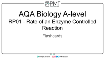 AQA A-level Biology Practical Flashcards