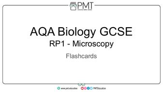 AQA GCSE Biology Practical Flashcards