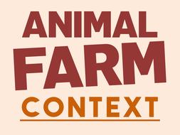 Animal Farm: Context