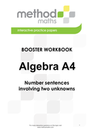 A04_Booster_Number-sentences-involving-two-unknowns.pdf