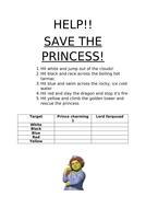 save the princess archery