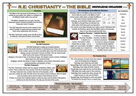 RE - The Bible Knowledge Organiser!