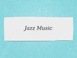 Jazz and Blues GCSE