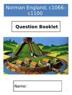 AQA GCSE History; Norman England, c1066–c1100 - Exam Question Booklet