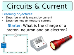 Ks3 ~ Year 8 ~ Current & Charge