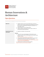 Open-Questions---Roman-Innovations-and-Architecture.docx