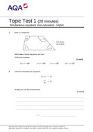 Simultaneous-Equations---Topic-test-1-H-v1.1.doc