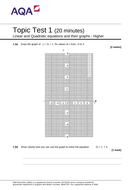 Linear-and-quadratic-equations-and-their-graphs---Topic-test-1-H-v1.1.doc