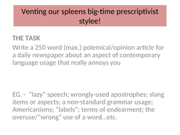 Venting-our-spleens-big-time-prescriptivist-stylee!.ppt