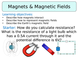 KS3 ~ Year 8 ~ Magnets & Magnetic Fields