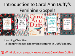 Introduction to Duffy's Feminine Gospels