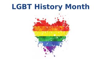LGBT History Month (KS3, KS4, KS5)
