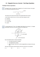 Magnetic-Force-on-a-Current---Past-Paper-Questions.docx