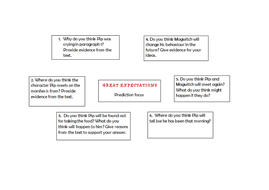 Year 6 SATs style questionsbased on Great Expectations