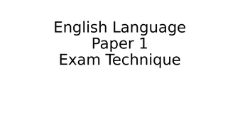 0131-English-Language-Paper-1-Exam-Technique.pptx
