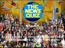 The News Quiz 3rd - 10th February 2020 Form Tutor Time Current Affairs