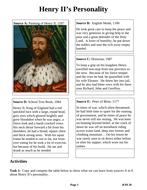 Henry-II's-Personality.docx