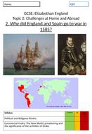 Elizabeth I: War with Spain