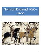 AQA GCSE History History Norman England 1066-1100 - Revision Guide.