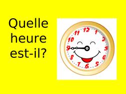 Game: Quelle heure est-il?